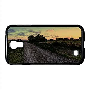 Eastern Oregon Sunset Watercolor style Cover Samsung Galaxy S4 I9500 Case (Oregon Watercolor style Cover Samsung Galaxy S4 I9500 Case)
