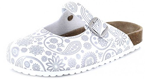 Softwaves Damen 276 093 Clogs White