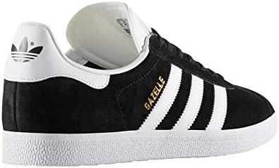 Gazelle, Basket Mode Femme, Chaussures de Fitness, Sneaker Casual. As (Talille 40 EU, Core Noir - Gold Metallic)
