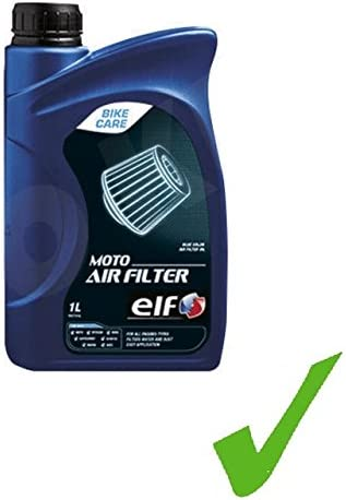 ELF Bike Moto Air Filter Filtro de espuma Oil algodón filtro de ...