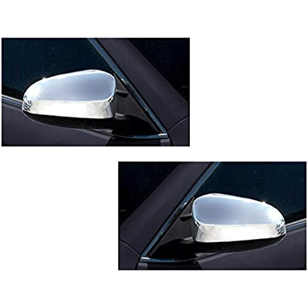 FOR 2012 2013 2014 2015 TOYOTA CAMRY CHROME SIDE MIRROR COVERS COVER LE XLE SE