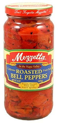 (Mezzetta Peppers,Roasted Red Bell 10 Oz (Pack Of 12))