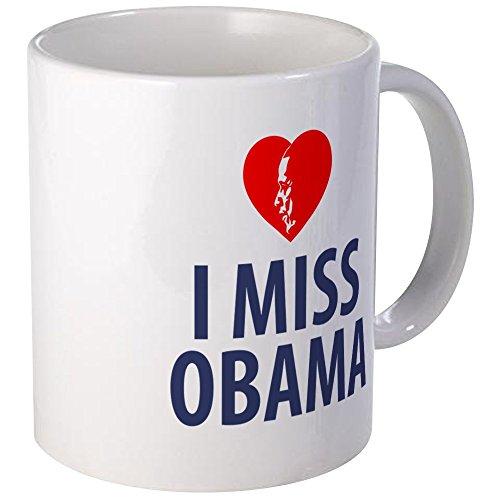 CafePress - I Miss Obama Mugs - Unique Coffee Mug, Coffee Cup