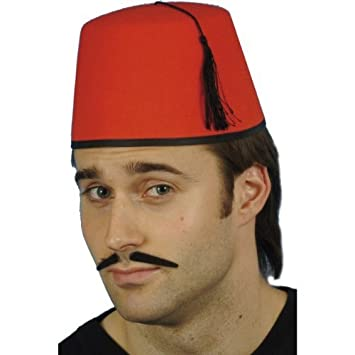 9ef984a555471 Gemz Fancy Dress Fez Hat: Amazon.co.uk: Toys & Games