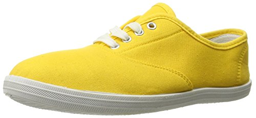 Shoes 18 Womens Canvas Shoes Lace up Sneakers 18 Colors Available Yellow 324