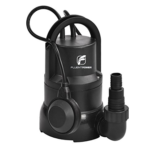 FLUENT POWER 1/3 HP Electric Submersible Utility Water Pump