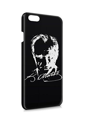 3D iPhone 6 PLUS 6s PLUS Atatürk Türkiye 6 Flipcase Tasche Flip Hülle Case Cover Schutz Handy