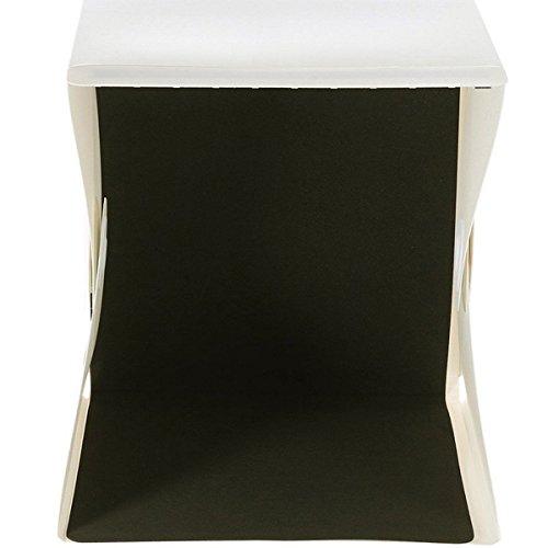 Vibrante globo portátil de iluminación de estudio de fotografía mini caja de fotografía fondo LED luz tienda de campaña