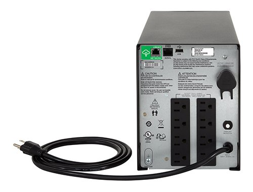 APC 1500VA Smart-UPS with SmartConnect, Pure Sine Wave UPS Battery Backup & Surge Protection (SMC1500C) by APC (Image #3)