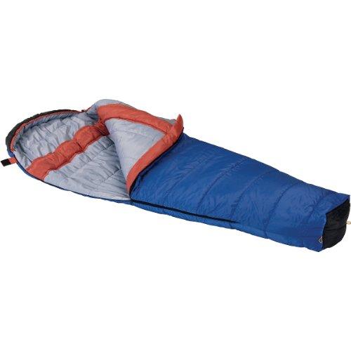 Wenzel Santa Fe 20-Degree Mummy Sleeping Bag, Blue/Orange, 33 x 84-Inch, Outdoor Stuffs
