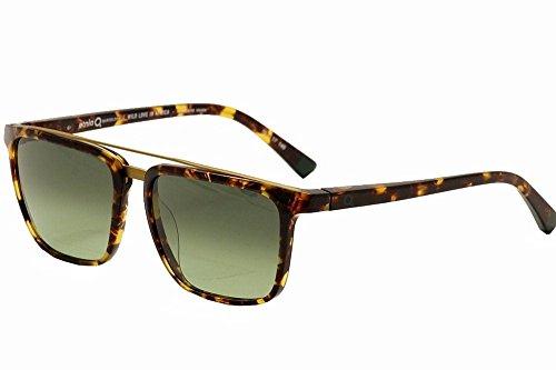 Etnia Barcelona Africa 05 BKBL Havana/Green Fashion Sunglasses - Sunglasses Etnies
