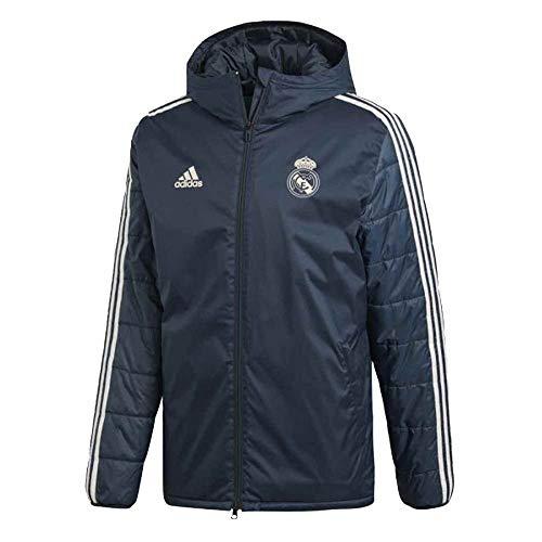 (adidas 2018-2019 Real Madrid Winter Jacket (Onix))