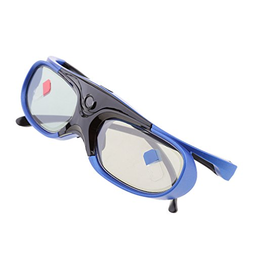 Homyl DLP Link 3D Glasses, 144Hz Rechargeable Active Shutter Eyewear for Most DLP-Link 3D Projectors-- Acer, ViewSonic, BenQ Vivitek, Optoma, Panasonic, Dell, Viewsonic etc by Homyl