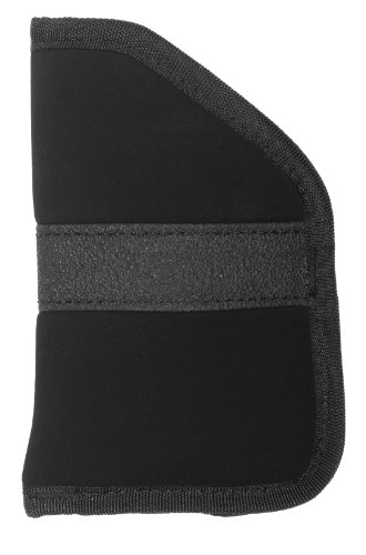 Uncle Mike's Nylon Open-Top Inside-The-Pocket Holster (Size 2, Black), Outdoor Stuffs