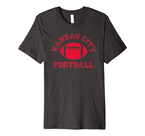 Kansas City Distressed Pro Football Team T-Shirt Mens Womens ()
