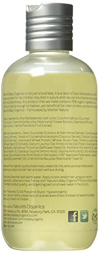 Nature's Baby Organics Shampoo & Body Wash, Lavender Chamomile, 8-Ounce Bottles (Pack of 2)