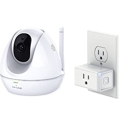 TP-Link TL-NC450 HD Pan/Tilt Wi-Fi Camera with Night Vision