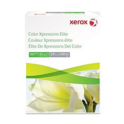 Color Xpressions Elite Paper, 100 Brightness, 28 lb, 17 x 11, White, 500 Shts/Rm
