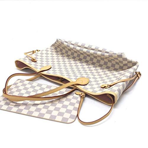 - SEYMEZLIWE Toile Damier Neverfull GM Tote bag Shoulder Large N41357 White