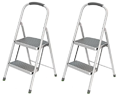 Rubbermaid RMS-2 2 Step, Steel Step Stool - Quantity 2