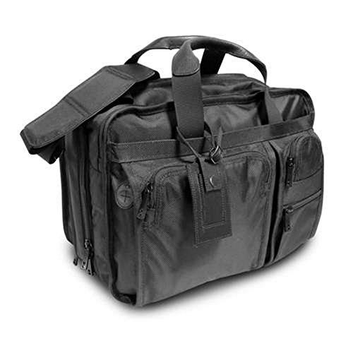 Bagiva Expandable Laptop Briefcase Expandable Shoulder Messenger Bag Laptop Case(Black,One