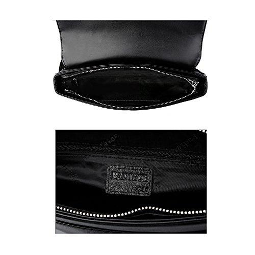3 tela bandoleras NB160721 de de negro para hombre negro hombres de para lona disena Padieoe bolsos de marcas wfCIqIYa