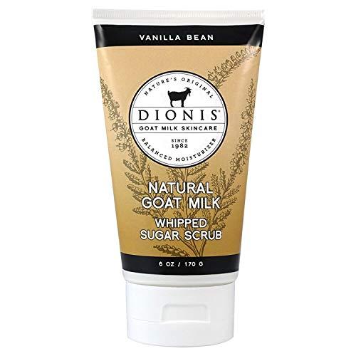 (Dionis Goat Milk Skincare Whipped Sugar Scrub (Vanilla Bean, 6 oz))