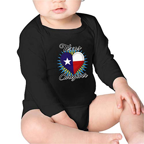 Price comparison product image Pikaqiuleilei Texas Caregiver Toddler Cotton, Long Sleeve Baby Romper