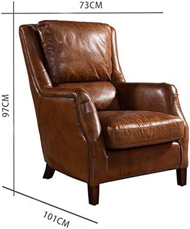 guohailang Fauteuil Fauteuil Lounge for Salon Chambre Bureau pour Salon Chambre (Color : Black, Size : Medium)