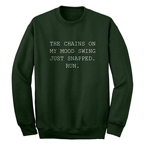 Crew My Mood Swing XX-Large Forest Green - Mean Air Shipping Next Day