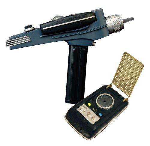 DIAMOND SELECT TOYS Star Trek: Communicator and Phaser, 2-Pack -