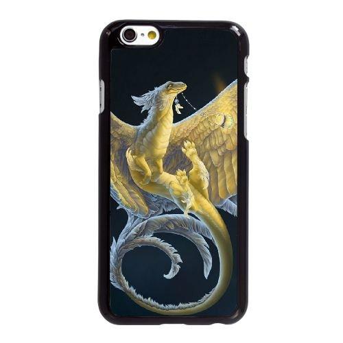 O2V58 nuit de dragon K5P1VW coque iPhone 6 4.7 pouces cas de couverture de téléphone portable coque noire IG2FPY2WF