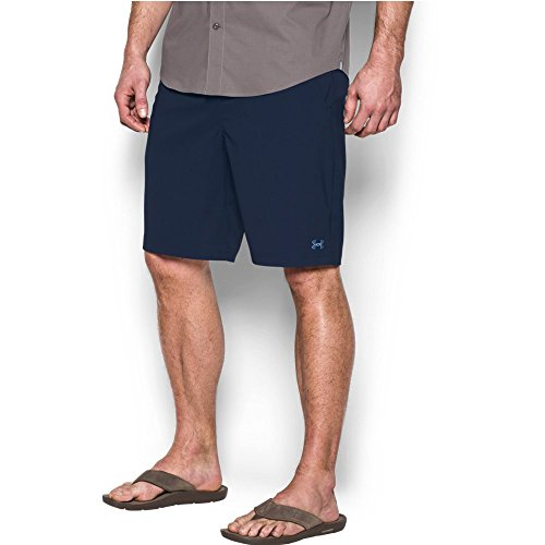 Under Armour Men's Fish Hunter Shorts, Midnight Navy/Carolina Blue, 32