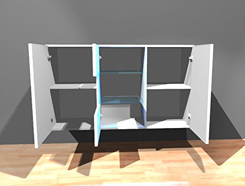 Credenza Moderna Profondità 40 : Muebles bonitos credenza sospesa moderna design varedo nero