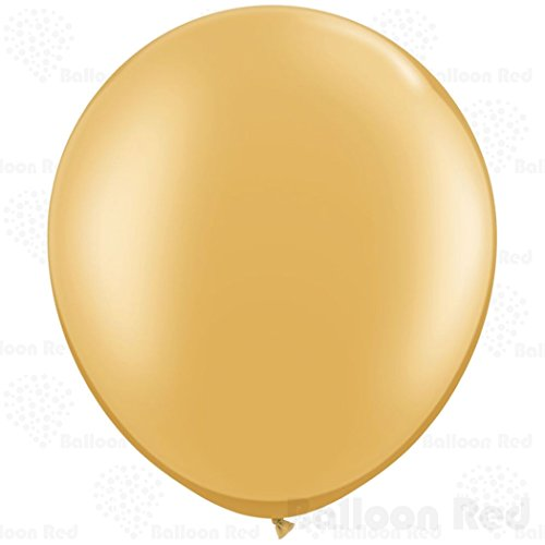 36 Inch Giant Jumbo Latex Balloons (Premium Helium Quality), Pack of 1, Regular Shape - Metallic (Homemade Cupcake Costume Kids)