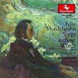Song Without Workds / Rondo Capriccioso by F. Mendelssohn