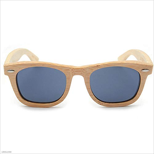 soleil Driving la Wayfarer à polarisées en de main Beach de Party Lunettes hommes hommes soleil lunettes pour Aviat pour Lunettes à UV protection soleil lunettes de Nouvelles Vacation de Gris soleil bambou wqxY71Pt