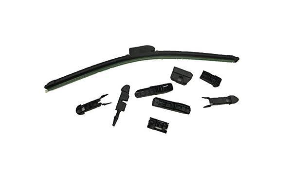 17 inch limpiaparabrisas 7 adaptador gancho Bracketless Parabrisas una PC: Amazon.es: Coche y moto