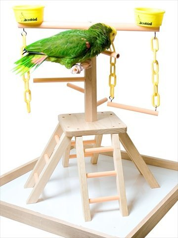 Acrobird PB24 Pyramid with Base Pet Toy, 24-Inch by Acrobird