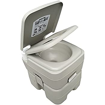 Amazon.com: ZIMMER Comfort Portable Toilet 5 Gallon