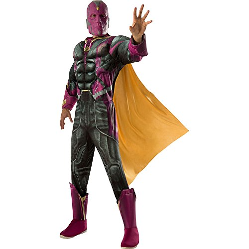 Rubie's Costume Men's Avengers 2 Age Of Ultron Deluxe Adult Vision Costume, Multi, -