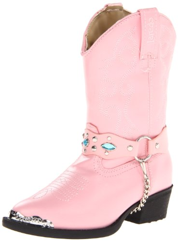 Laredo Toddler/Little Kid Little Concho Boot,Pink,1 M US Little Kid