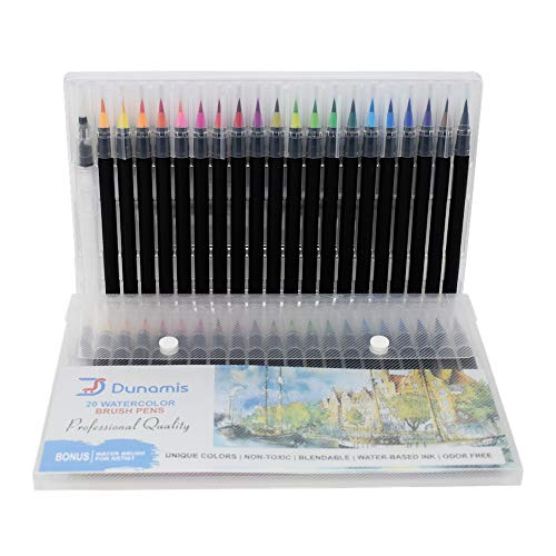 Watercolor Brush Pens, Calligraphy Pen, Best Real Soft Brush...
