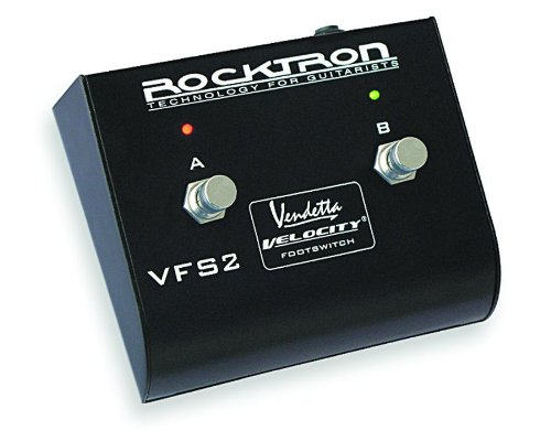 Rocktron Velocity Double Footswitch for Velocity and Bass Amps by Rocktron