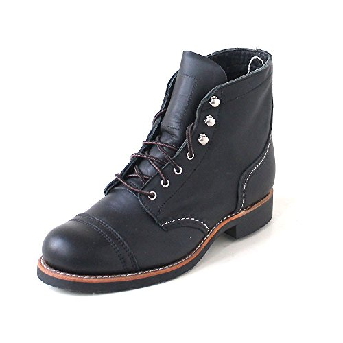 Wing Boot Heritage Black Boundary Work Women's Red Ranger Iron W d0U8wn