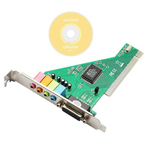 Honglei PCI geluidskaart, 4.1 desktop computer ingebouwde onafhankelijke geluidskaart