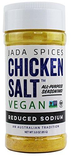 (Vegan Chicken Salt Reduced Sodium - NON GMO, Gluten Free, MSG)