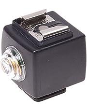 SODIAL(R) Trigger Hot Shoe Wireless Flash Light slave remoto per Nikon Pentax Canon SYK-3