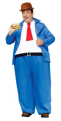 Popeye Wimpy Adult Costume (One Size)