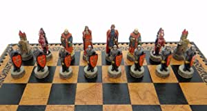 The Chessmen - Set de piezas de ajedrez, diseño de Robin Hood